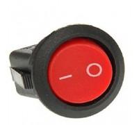Выключатель клавишный REXANT ON-OFF круглый (RWB-213, SC-214, MRS-102-8), красный