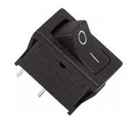 Выключатель клавишный REXANT ON-OFF Mini RWB-201, SC-768 250V 6А (2с) черный