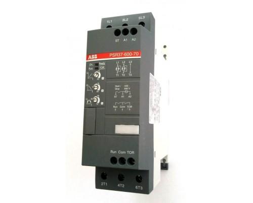 Устройство плавного пуска PSR9-600-70 ABB 4кВт 400В 9А (100-240В AC)