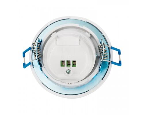 Датчик движения ИК ЭКФ встр., поворотный, 800Вт, 360гр., до 8м, IP20